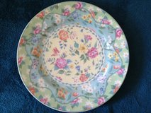 """CHINTZ CHARMING """"Andrea"""" DECORATIVE DISPLAY PLATE BY JULIA BULLMORE in Bartlett, Illinois"""