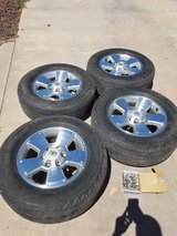 Tacoma sport rims with Dunlop tires in Alamogordo, New Mexico