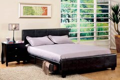 QUEEN BED W 6 STORAGE DRAWERS FREE DELIVERY in Huntington Beach, California