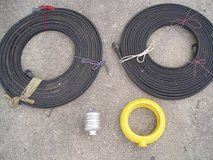 2 Soaker Hoses, Round Sprinkler, and hose end Bubbler in Aurora, Illinois