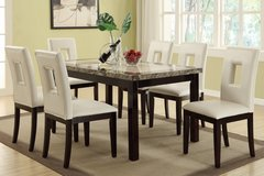 2-TONE 7PC DINING SET FREE DELIVERY in Huntington Beach, California