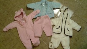 baby winter 3-6 months teddy bear outfit in Vacaville, California