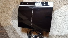 Playstation PS3 incl. 2 controllers and 1 GTA 5 Game in Hohenfels, Germany