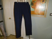 Cute Navy Eyelet Pants! Size 4 in Orland Park, Illinois