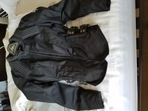 Small woman's motorcycle jacket in Camp Pendleton, California