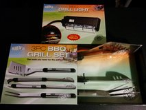 Brand New BBQ Grill Light and 3PC BBQ Grill Set from yard Play in Los Angeles, California