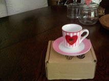 Espresso cup and saucer new in Ramstein, Germany