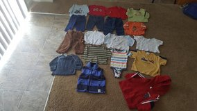 Baby Boys size 3-6 months clothes lot in Leesville, Louisiana