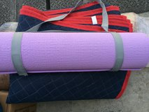 Yoga mat with carry strap in Okinawa, Japan