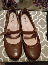 Cliff by white Mountain brown shoes in Fort Bragg, North Carolina