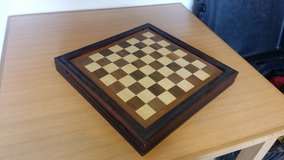 Handmade chess board in Camp Humphreys, South Korea