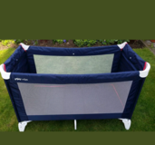 Travel bed barely used in Stuttgart, GE