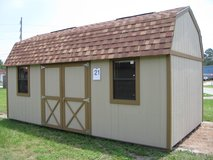 10x20 Lofted Barn Storage Building Shed DISCOUNTED!! in Moody AFB, Georgia