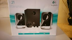 LOGITECH SUBWOOFER & STERIO SPEAKERS SET in Fort Knox, Kentucky
