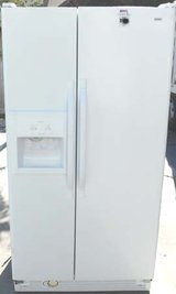 25 CU. FT. KENMORE SIDE-BY-SIDE REFRIGERATOR WITH WARRANTY in Camp Pendleton, California