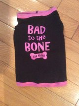 Pet Shirt - Pink Bad to the Bone Las  Vegas - Small in Naperville, Illinois