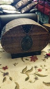 Pier 1 Iron Wicker Bombay Chest in Fort Campbell, Kentucky