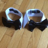 Two Bow Ties for Small dogs in Chicago, Illinois