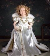 Shirley Temple LITTLE PRINCESS Porcelain Doll By HUTCHENS Danbury Mint in Cadiz, Kentucky