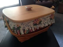 Longaberger Mother's Day Sewing Basket Combo with Lid in Bartlett, Illinois