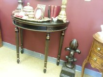 half moon table with drawer in Naperville, Illinois