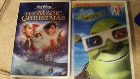 Shrek 3D and One Magic Christmas Dvd in Alamogordo, New Mexico