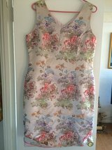 Brand new Women's satin flower print dress - size 12 in 29 Palms, California