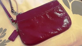 NEW Coach patent leather wristlet $10 in Okinawa, Japan