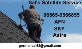 Sal's  Satellite  Service  AFN  SKY  Astra in Spangdahlem, Germany