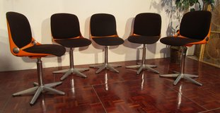 5 Impieral Galactic Deathstar Chairs from the 1970s in Ramstein, Germany