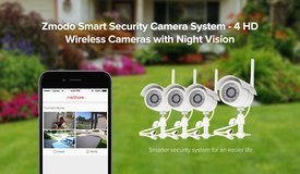 Zmodo 720P HD Outdoor IP Network IR Night Vison Wireless Camera Security System in Baytown, Texas