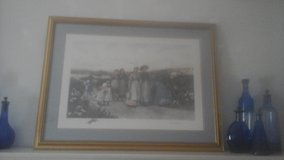 Framed After Etching(Jas. S. King) Jennie Brownscombe Berry Pickers in Clarksville, Tennessee