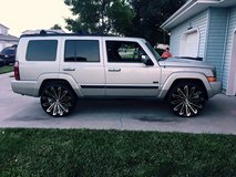 "24"" Starr rims and Tires(Wichita) in Salina, Kansas"