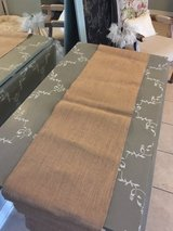18 Wedding/party burlap table runners lot in Cleveland, Texas