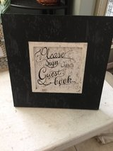 Wedding Guestbook sign in Cleveland, Texas