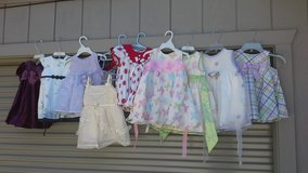 dresses baby girl 3 - 24 months sizes in Travis AFB, California