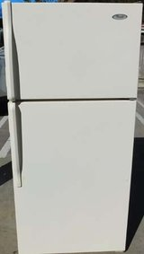 14 CU. FT. WHIRLPOOL REFRIGERATOR- BISQUE WITH WARRANTY in San Diego, California