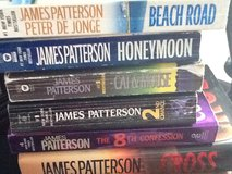 (8) James Patterson Lot in Ramstein, Germany