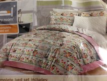 Full Size Comforter 9pc Set in League City, Texas