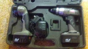 Craftsman rechargeable drill and cordless worklight. in 29 Palms, California
