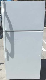 16 CU. FT. GE REFRIGERATOR- WHITE in Camp Pendleton, California