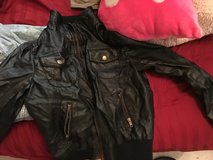 Leather jacket in 29 Palms, California