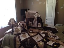 Teddy Bear Crib Bedding Set in Sandwich, Illinois