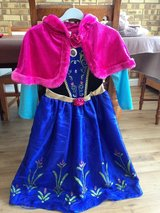 Anna dress up age 7-8 years in Lakenheath, UK