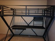Full size loft bed in Fort Leonard Wood, Missouri