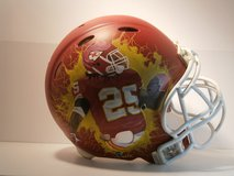 Jamaal Charles Painted NFL Chiefs Helmet in Conroe, Texas