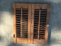 Vintage MINITURE  SHUTTERS - Can be used with a lot of displays - Can make items out of them in Warner Robins, Georgia