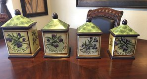 Garder of Olives Canister Set in Fort Bliss, Texas