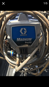 Graco Magnum Pro X9 Airless Paint Sprayer 7/8 HP Asking for  475.00 in Conroe, Texas