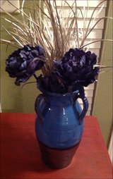 Beautiful Blue And Pewter Vase in Kingwood, Texas